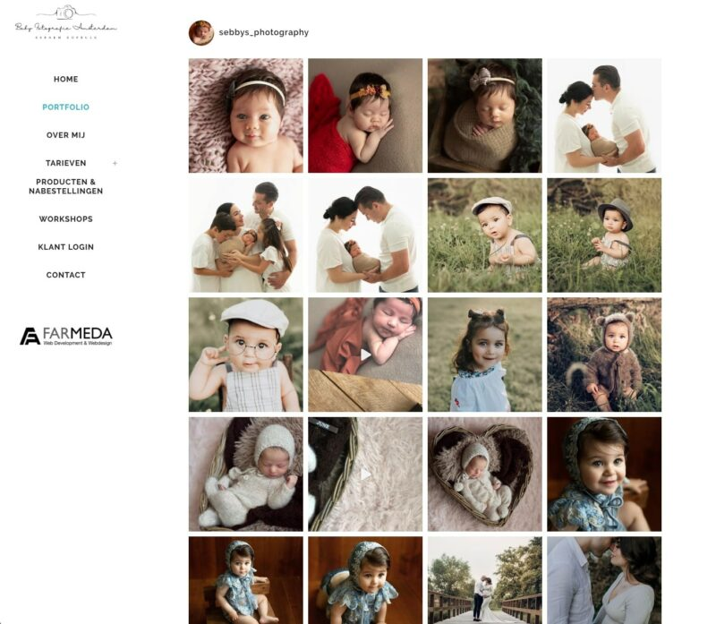 Babyfotografie Amsterdam