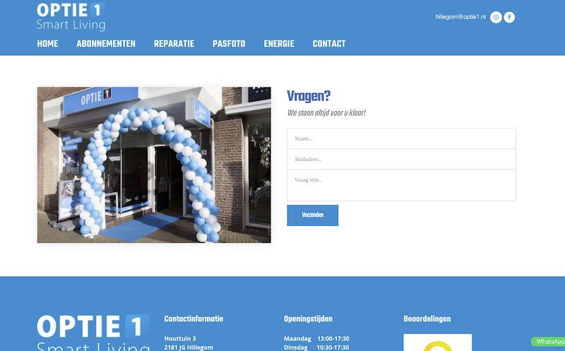 optie1hillegom.nl